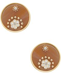 Kate Spade - Out Of Her Shell Mini Stud Earrings - Lyst