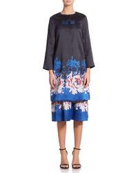 SUNO - Floral-print Jacket - Lyst