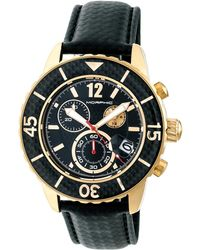 Morphic - M51 Series Stainless Steel Black Dial Watch, 45mm - Lyst