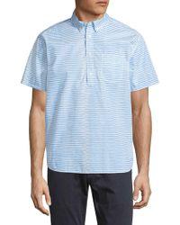 Life After Denim - Skipper Popover Cotton Sportshirt - Lyst