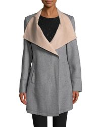 Laundry by Shelli Segal - Double Face Wool - Lyst