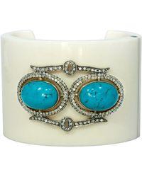 Jyoti New York - Heritage Turquoise & Diamond Bracelet - Lyst