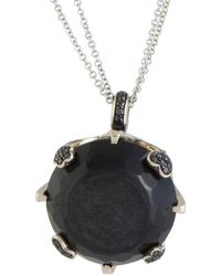 Pasquale Bruni - 18k Two-tone 1.97 Ct. Tw. Diamond & Onyx 30in Necklace - Lyst