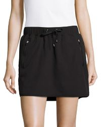 Marc New York - Drawstring Tennis Skirt - Lyst