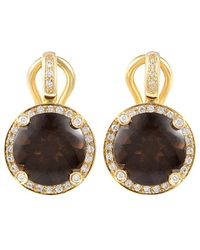 Poiray - 18k 5.86 Ct. Tw. Diamond Drop Earrings - Lyst