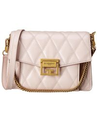 Givenchy - Gv3 Small Quilted Leather Shoulder Bag - Lyst