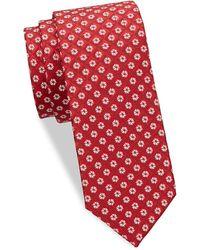Eton of Sweden - Floral Diamond Silk Tie - Lyst