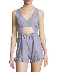 6 Shore Road By Pooja - Beach Comber Romper - Lyst