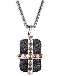Stephen Webster - Men's Silver & Rhodium Necklace - Lyst
