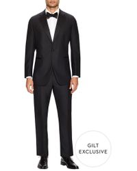 Martin Greenfield - Classic Fit Solid Notch Lapel Tuxedo - Lyst