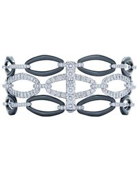 Kwiat - Madison Avenue Collection 18k White Gold 6.00 Ct. Tw. Diamond Bracelet - Lyst