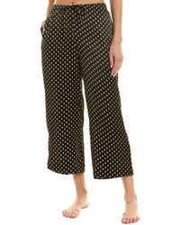 Commando - Silk Wide Leg Crop Pants Slk103 (skull) Pyjama - Lyst