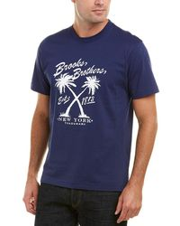 Brooks Brothers - 1818 Vintage Palm T-shirt - Lyst