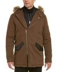 be1ddb9c05 Men's The Kooples Parka coats On Sale - Lyst