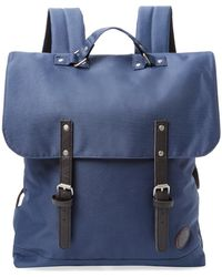 Enter # - Solid Flap Backpack - Lyst