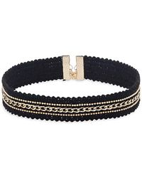 Noir Jewelry - Scalloped Choker - Lyst