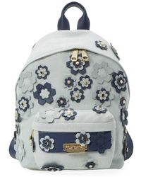 Zac Zac Posen - Floral Embellished Backpack - Lyst