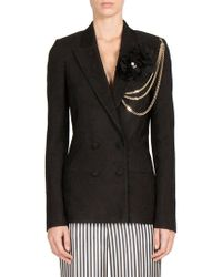 Lanvin - Double-breasted Jacket - Lyst