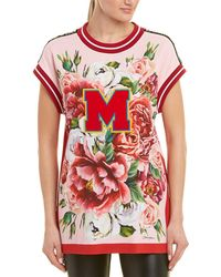 Dolce & Gabbana Floral Knitted Top