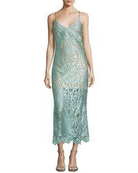 ABS By Allen Schwartz - Lace Sheath Dress - Lyst