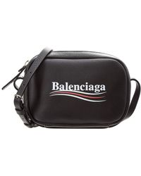 Balenciaga - Xs Campaign Everyday Leather Camera Bag - Lyst