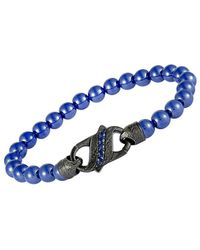 Stephen Webster - Silver & Rhodium 0.82 Ct. Tw. Sapphire Bracelet - Lyst