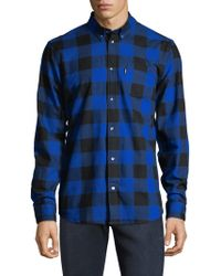 Wesc - Olavi Buffalo Check Shirt - Lyst