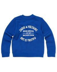 Zadig & Voltaire - Joe Graphic Sweatshirt - Lyst