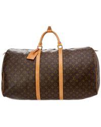 c290a71d2090 Lyst - Louis Vuitton Monogram Sac Chien 50 Pet Carrier - Vintage in ...