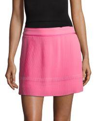 SemSem - Maryam Silk Pleated Skirt - Lyst