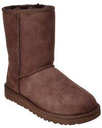 UGG - Women's Classic Short Ii Water-resistant Twinface Sheepskin Boot - Lyst
