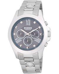 Versus - Stainless Steel Chronograph Bracelet Watch - Lyst