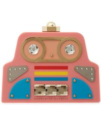 Charlotte Olympia - Cobot Embellished Clutch - Lyst