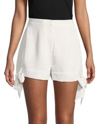 C/meo Collective - Tie Cuff Shorts - Lyst