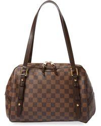 Louis Vuitton - Vintage Damier Ebene Rivington Gm - Lyst