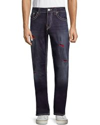True Religion | Ripped Denim Jeans | Lyst