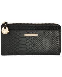 Gigi New York - Python Large Zip Wallet - Lyst