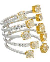 Diana M. Jewels - . Fine Jewellery 18k 4.26 Ct. Tw. Diamond Ring - Lyst