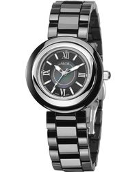 Alor - Stainless Steel Black Dial Watch, 32mm - Lyst