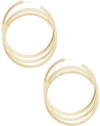Marc Jacobs - Triple Hoop Earrings - Lyst
