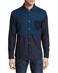 PRPS - Goods & Co. One Pocket Sportshirt - Lyst