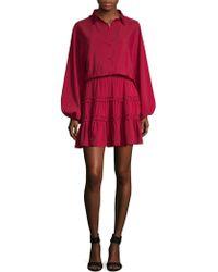 Marabelle - Long Sleeve Dress - Lyst