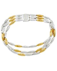 Gurhan - Wheat 24k Yellow Gold Plated & Silver Bracelet - Lyst