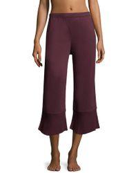 Skin Worldwide - Gauze Cotton Crop Pants - Lyst
