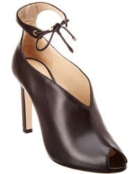 6612784d639 Lyst - Jimmy Choo Talma Suede Leather Ankle Boots in Black