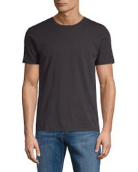 The Kooples - Classic Cotton Tee - Lyst