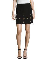 Elorie - Embellished Pencil Skirt - Lyst