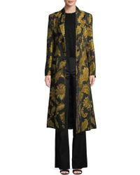 Derek Lam - Floral Long Coat - Lyst