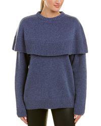Chloé - Cape Cashmere Sweater - Lyst