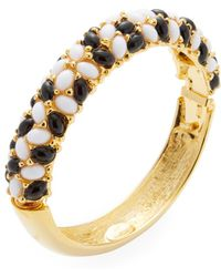 Kenneth Jay Lane - Beaded Statement Bracelet - Lyst